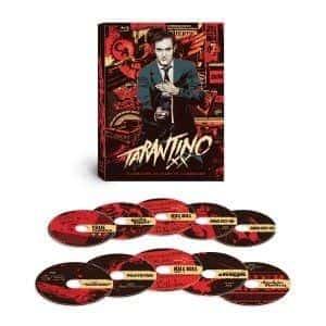Caixa de Blu-Rays Tarantino XX: