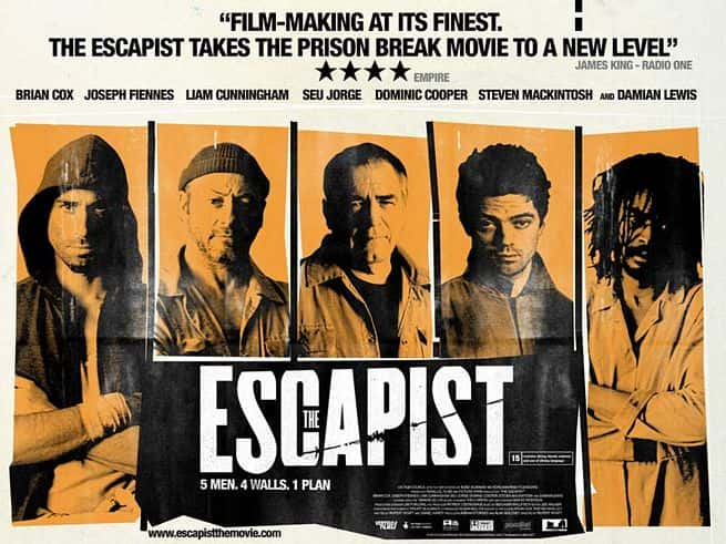Cartaz do filme The Escapist