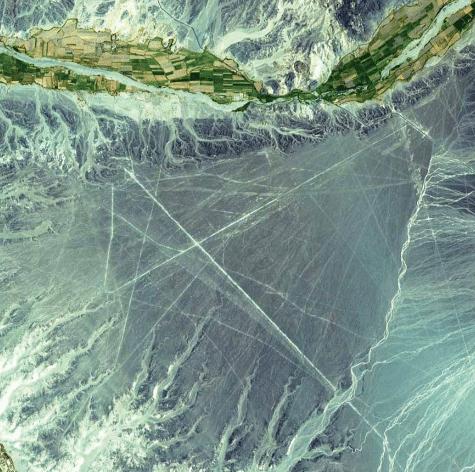 A Terra como Arte - Ebook com fotografias da NASA (Earth as Art) - Nazca Lines