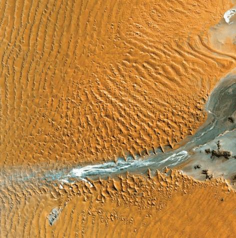 A Terra como Arte - Ebook com fotografias da NASA (Earth as Art) - Namibia