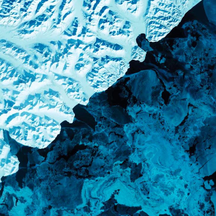 A Terra como Arte - Ebook com fotografias da NASA (Earth as Art) - Russia