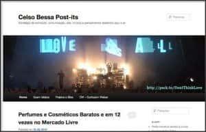 Wordpress 10 anos - 10 projetos, sites e blogs que participo: Celso Bessa Post-Its e CelsoBessa.Com.Br