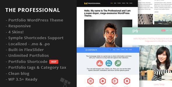 Wordpress 10 anos - 10 temas/templates de WordPress: The Professional