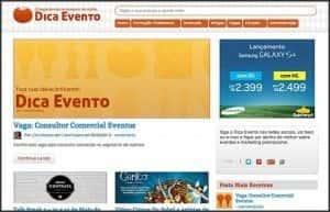 Wordpress 10 anos - 10 projetos, sites e blogs que participo: Dica Evento