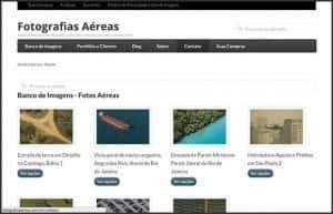 Wordpress 10 anos - 10 projetos, sites e blogs que participo: Fotografias Aéreas