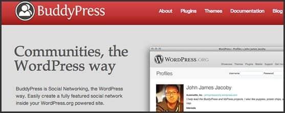 Wordpress 10 anos - 10 outros produtos Automattic e WordPress Foundation: BuddyPress