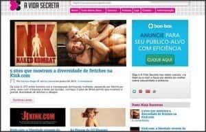 Wordpress 10 anos - 10 projetos, sites e blogs que participo: A Vida Secreta