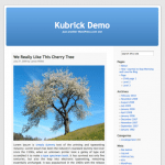 Tema de WordPress Kubrick