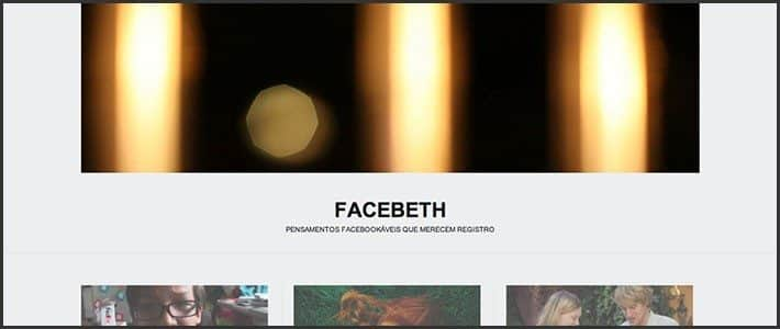 Wordpress 10 anos - 10 sites e blogs bacanas: Facebeth.