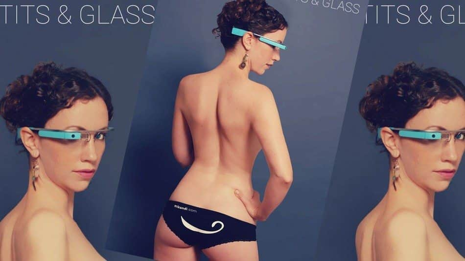 Tits and Glass, o primeiro aplicativo pornô para o Google Glass, óculos inteligente do Google.