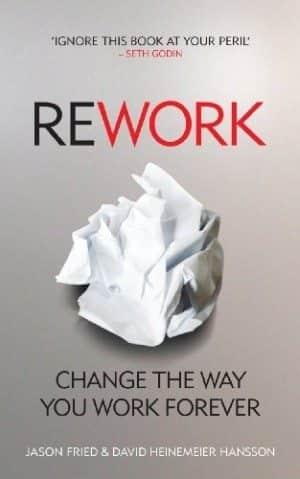 Rework - Jason Fried em promoção a Livraria Cultura