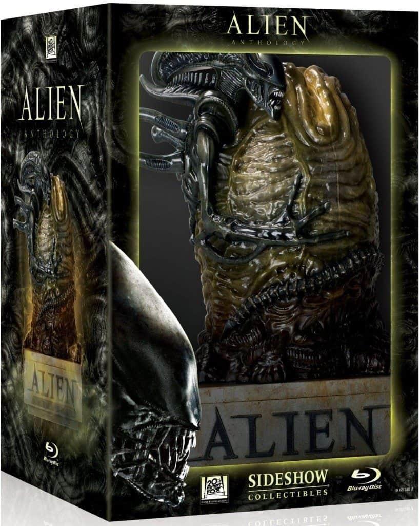 Alien Quadrilogia em Blu-Ray. Embalagem Ovo Alien. ( Alien Anthology (Alien / Aliens / Alien 3 / Alien: Resurrection) (Egg Packaging) [Blu-ray] (2010)