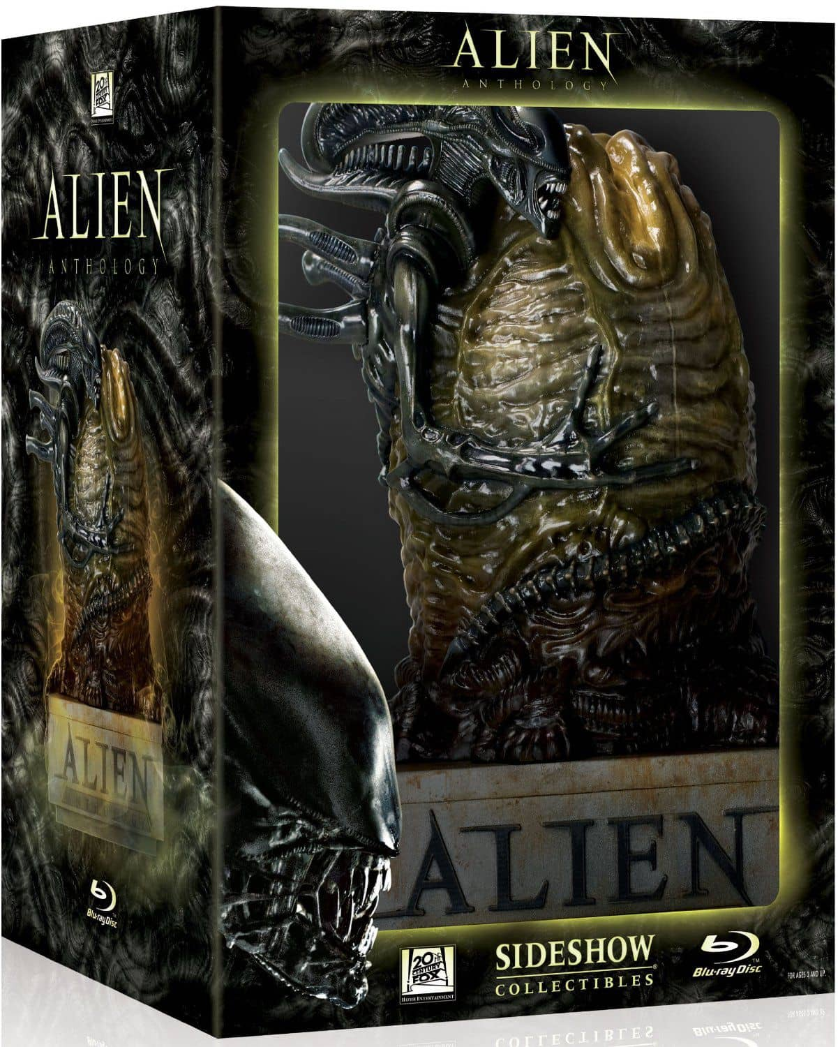 Alien Quadrilogia em Blu-Ray. Embalagem Ovo Alien. ( Alien Anthology (Alien / Aliens / Alien 3 / Alien: Resurrection) (Egg Packaging) [Blu-ray] (2010)