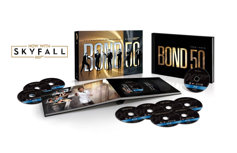 James Bond 50 + Skyfall em caixa especial