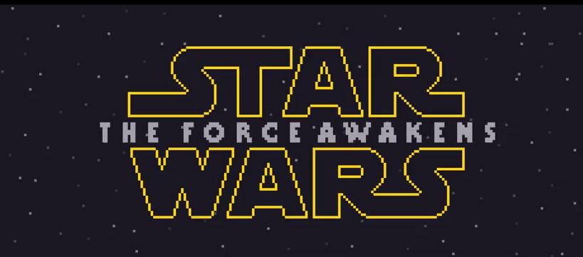 Star Wars: The Force Awakens 8 bit Teaser