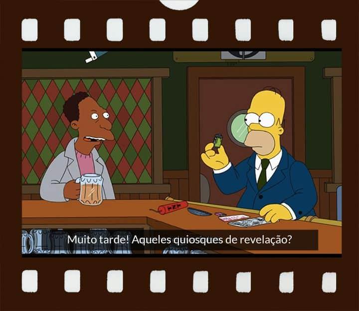 Carl conversa com Homer