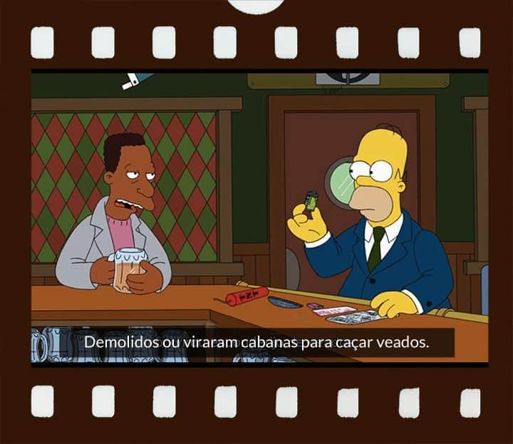Carl e Homer conversando