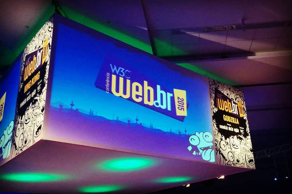 Auditório da Conferência Web.br 2015: Re-descentralização da Web