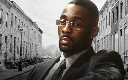 Stringer Bell, personagem de The Wire interpretado por Idris Elba