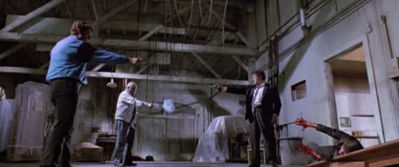 Duelo em Cães de Aluguel (Reservoir Dogs)