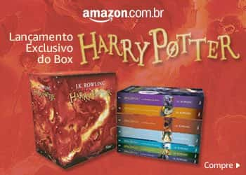 Caixa especial com todos o livros da série Harry Potter