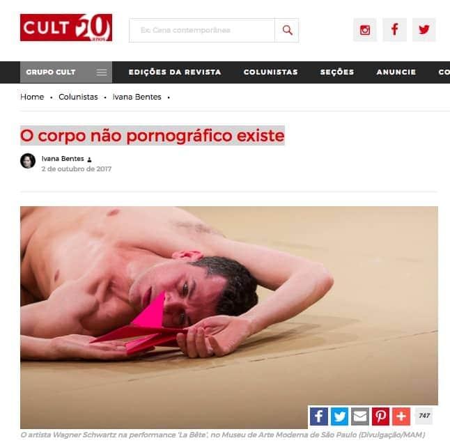 Site da Revista Cult
