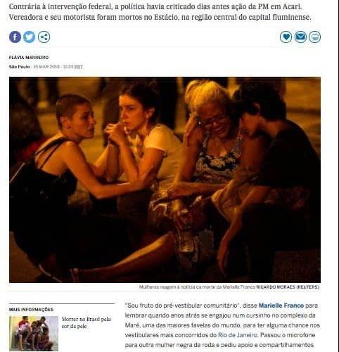 Artigo do Jornal EL País